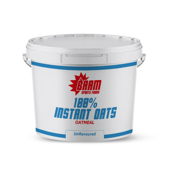 BAAM Sports Foods 100% Instant Oats